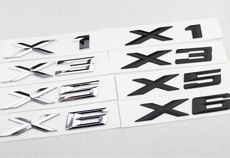 2017 High Quality Emblem Badge Stickers for BMW X1 E84 X3 F25 E83 X5 E70 E53 X6 E71 E60 E61 E64 E39 E90 E46 M3 M5 M6 Car Styling h11 h8 led projector fog light drl no error for bmw e71 x6 m e70 x5 e83 f25 x3 2004 for e53 x5 2003 2006 e90 325 328 335i