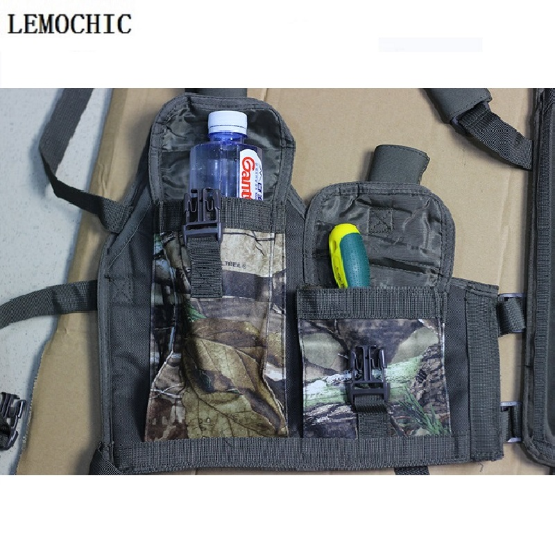 Outdoor Sport Men Women  Military Army Tactical  Hunting Bow High quality Backpacks Multifunction  Vest With Many Pockets tactical vest men training cs tactical breathable men hiking vest outdoor sport military hunting shooting vest men hmt0034 5