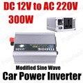 Conversor de Potência do carro Inversor Carregador USB 300 W DC 12 V para AC 220 V Transformador de Tensão Portátil modificado sine onda