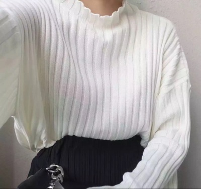 3 colors plus size 2018 autumn and winter Small vertical turtleneck sweaters womens sweaters and pullovers (C8736)