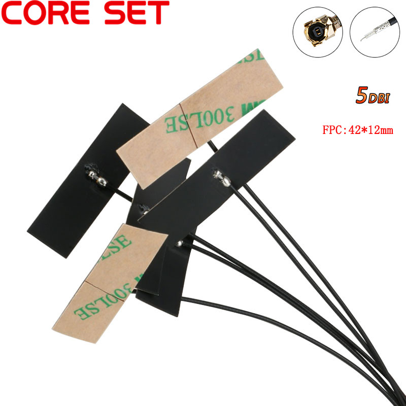5PCS 2.4Ghz WIFI Internal Antenna FPC 5dBi IPX IPEX Connector Omni Antenna IEEE 802.11 B/g/n WLAN System