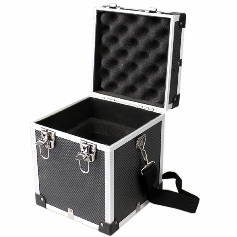 182x182x226mm Aluminium Alloy Tool Box Multifunction Safety Instrument Case Portable Storage Case With Shoulder Strap