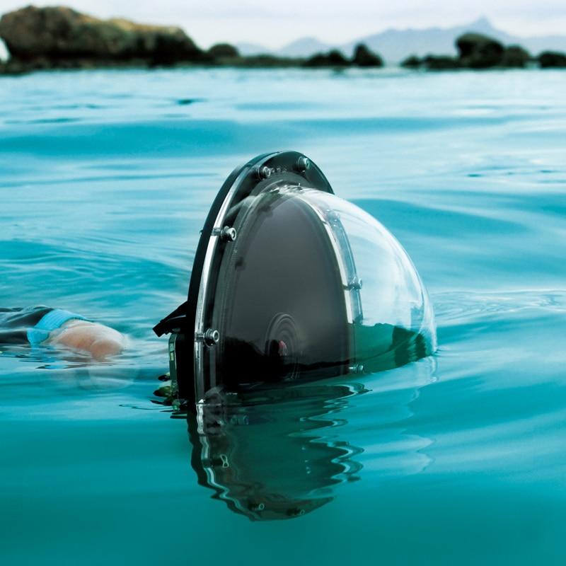 TUYU Waterdichte Dome Port Cover voor GoPro Hero 5 6 4 sessie EKEN h9 - Camera en foto - Foto 2