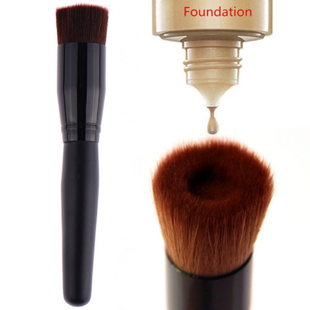 2017 New Large Flat Perfecting Face Brush Premium Foundation Makeup Make Up Blush Brushes Tool High Quality In Eye Shadow Applicator From