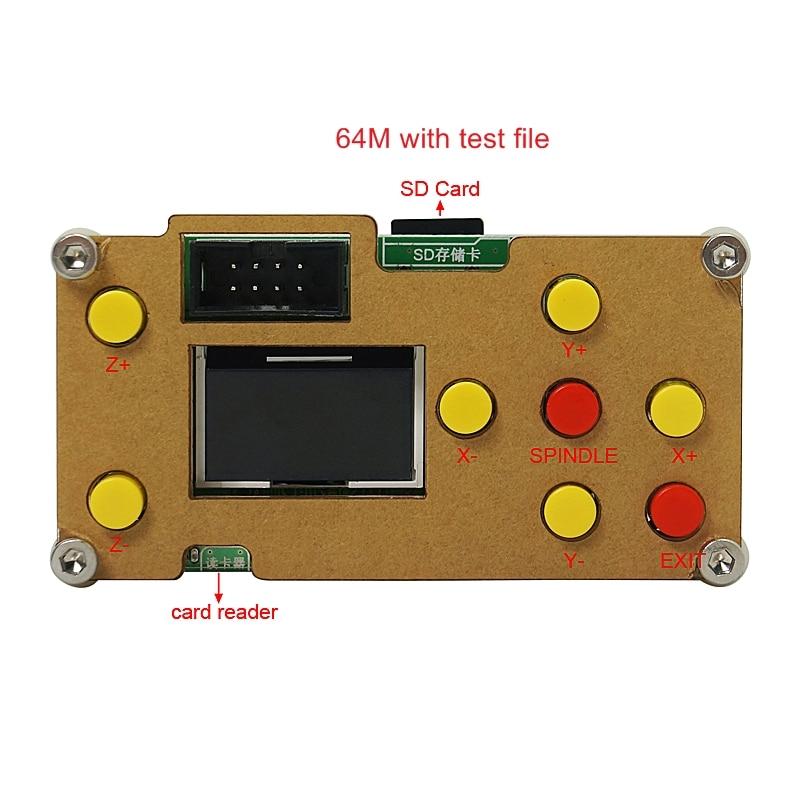 GRBL Offline Controller Board 3 Achse Offline CNC Controller Für PRO 1610/2418/3018 Gravur Maschine Carving Fräsen maschine