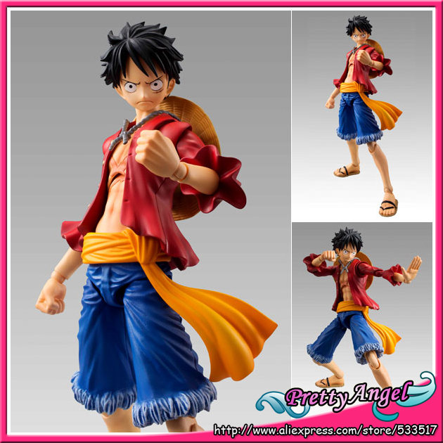 PrettyAngel - Genuine MegaHouse Variable Action Heroes ONE PIECE Monkey D. Luffy Action Figure prettyangel genuine megahouse variable action heroes one piece dracule mihawk action figure