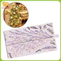 Kerstboom siliconen fondant mal chocoladevorm Epoxy mold clay mold Fondant bakken tools
