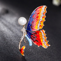 Yimeirui enamel brooch brooch angel wings female Korean fashion accessories wholesale pin simple