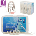 New 1 Boxes 50Pcs Dental Flosser Stick Pleiotropic Circleline Nursing Original Interdental Brush Teeth Stick Toothpicks