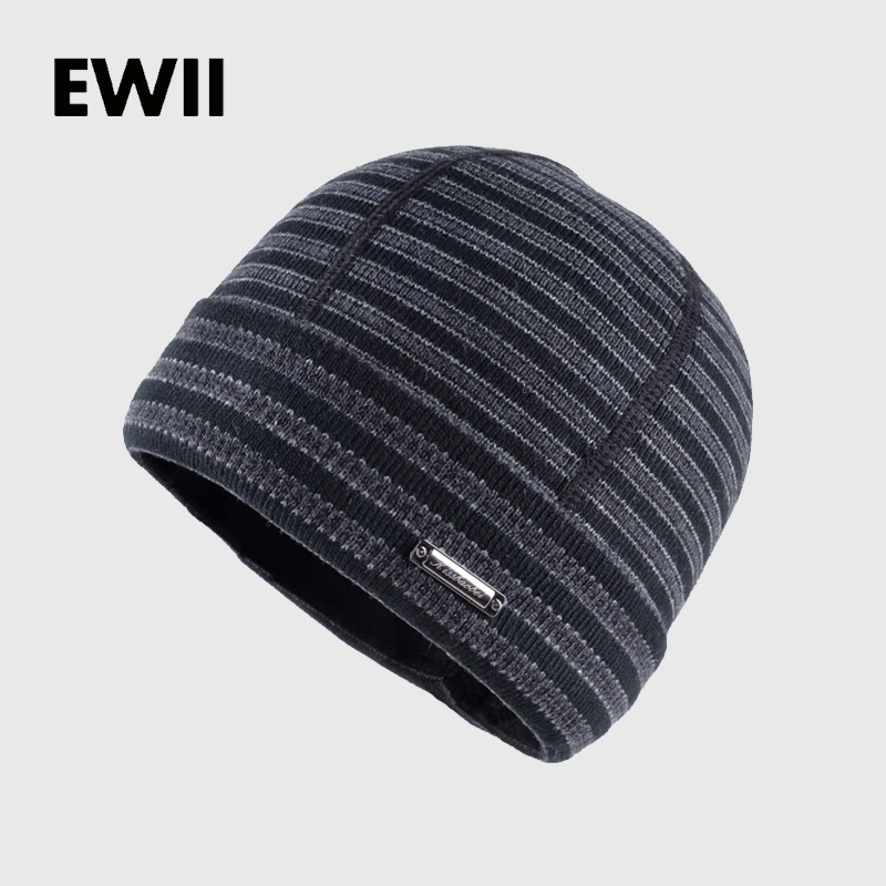 2017 Men beanie winter knitted hats boy beanies cap gorro skullies men striped wool hat man warm casual bonnet caps bone men s skullies winter gorros ski wool warm knitted cap beanie headgear hat nap skullies bonnet beanies cap hats for women gorro