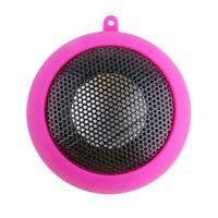 Mini Hamburg Shape Stereo Audio Capsule Speaker Unique Vacuum Bass Design Speaker With For Car Home