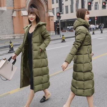 M 6XL Nowa kurtka zimowa kobieta Parka płaszcz Feminina