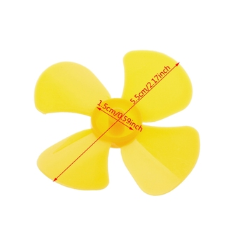 Brand High Quality Four Blades Leaves Plastic Propeller For RC Model Motor Ship Boat Aircraft DC Motor Electrical Equipment Acce image