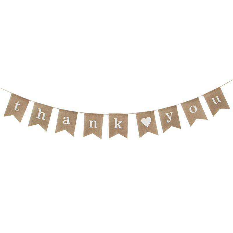 Rustic Wood Lace Personalised Wedding Bunting Banner Garland