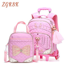 Children School Backpacks Bags Kids Bookbag Cute Backpack Girl Bagpack For Girls Backpack For 6-10 Year Kid Back Packs Bag dispalang cute ballet girls school backpack and lunch pouch set pretty bookbag insulated cooler bag for children pencil case kid