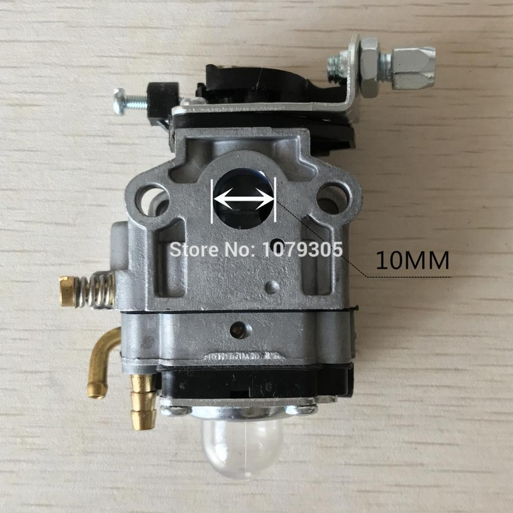 10mm Carburetor For 330 1E36F/TU26/34 Brush Cutter For Echo SRM 260S 261S 261SB PPT PAS 260 261 BC4401DW Trimmer AUG11