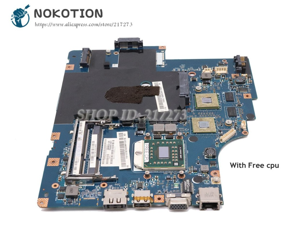 NOKOTION For Lenovo G565 Z565 Laptop Motherboard NAWE6 LA-5754P Socket S1 DDR3 HD5340 GPU Main Board цена