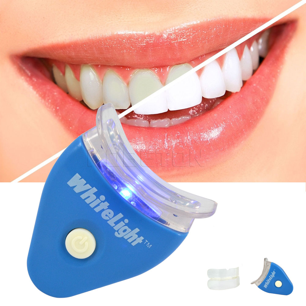 Whitening treatment as is indicated by comparison to the whitening - White Led Light Teeth Whitening Tooth Gel Whitener Health Oral Care Toothpaste Kit For Personal Dental