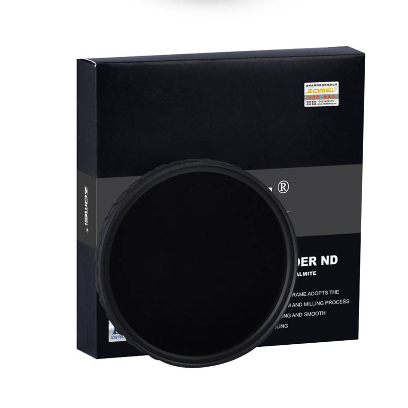 Zomei 77mm Ultra Slim HD 18 Layer ND2 400 Multi Coated Neutral Density Fader Variable ND Filter for Canon Nikon Sony Pentax lens