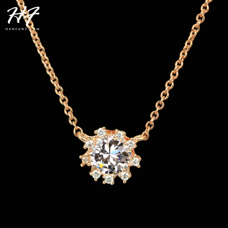 Top Quality N367 Noble Crystal Rose Gold Color Fashion Pendant Jewelry Made with Austria Crystal Wholesale