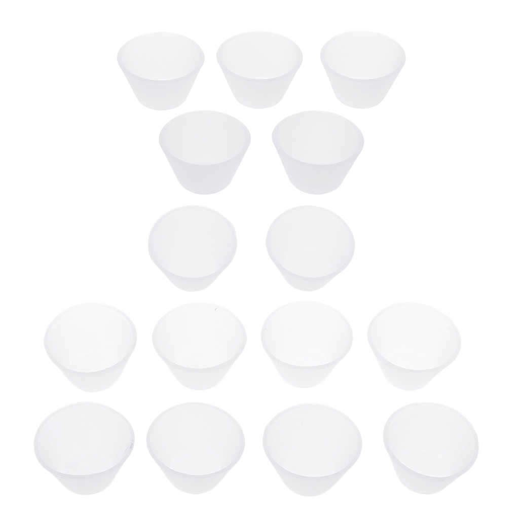 5/10 pcs ללא רעיל סיליקון כוס עמיד שרף הפצה ערבוב כוסות עבור תכשיטי ביצוע כלים DIY מלאכות אספקה