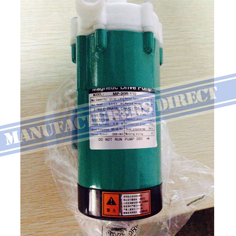 1/2 NPT External thread 15w MP-20R 110V60hz China Cheap Brew Beer Magnetic Drive Pump food grade high temperature resisting 140 degree beer magnetic drive pump