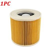 1PC 교체 용 공기 먼지 필터 Karcher WD2250 WD3.200 MV2 MV3 WD3 A2004 A2204 진공 청소기 부품 카트리지 HEPA 필터