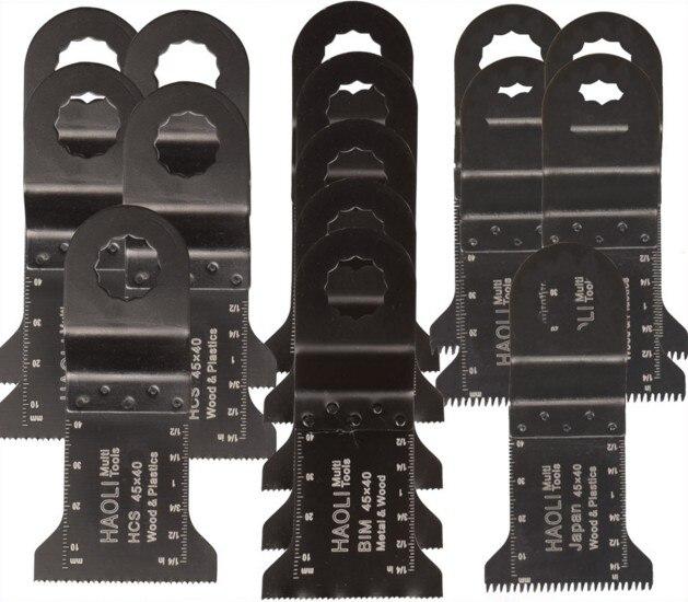 15 pcs 45mm oscillating muti font b tool b font saw blades for font b power