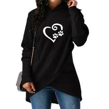 Heart & Paws hooded blouse