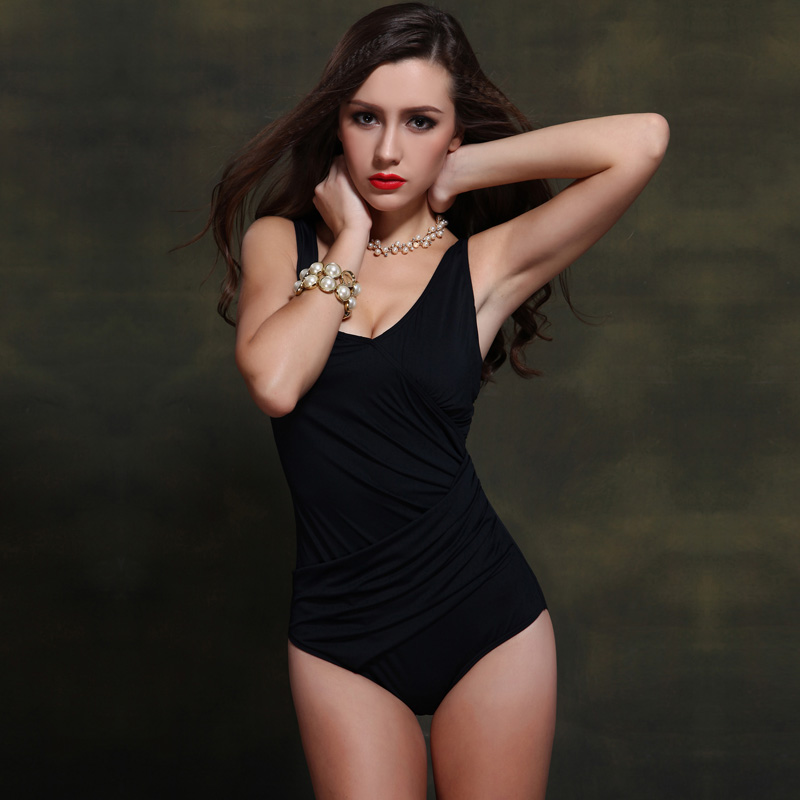 Foclassy mayo qadınlar Bikini 2017 Plus Ölçü Üzmə - İdman geyimləri və aksesuarları - Fotoqrafiya 6