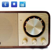 คลาสสิกโบราณ vintage โบราณวิทยุ FM ลำโพงบลูทูธ build in mp3 เพลงถอดรหัส usb flash ดิสก์ tf card reader อินเทอร์เฟซ