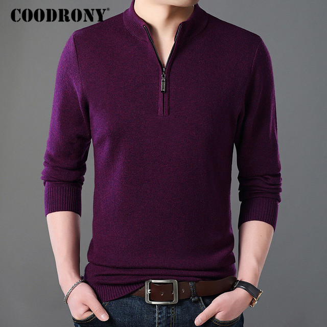 Cashmere Sweater Men Clothes Thick Warm Wool Pullover  3