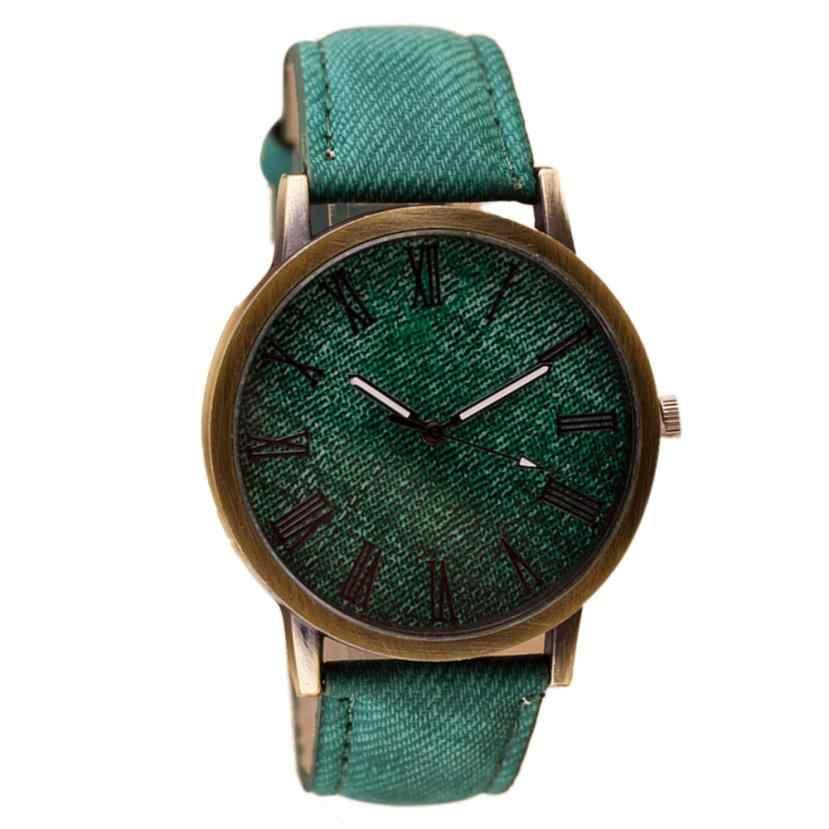 Повседневные мужские часы Ретро Vogue Топ Роскошные Мужские кварцевые часы спортивные военные часы мужские ковбойские кожаные Relogio Masculino # D