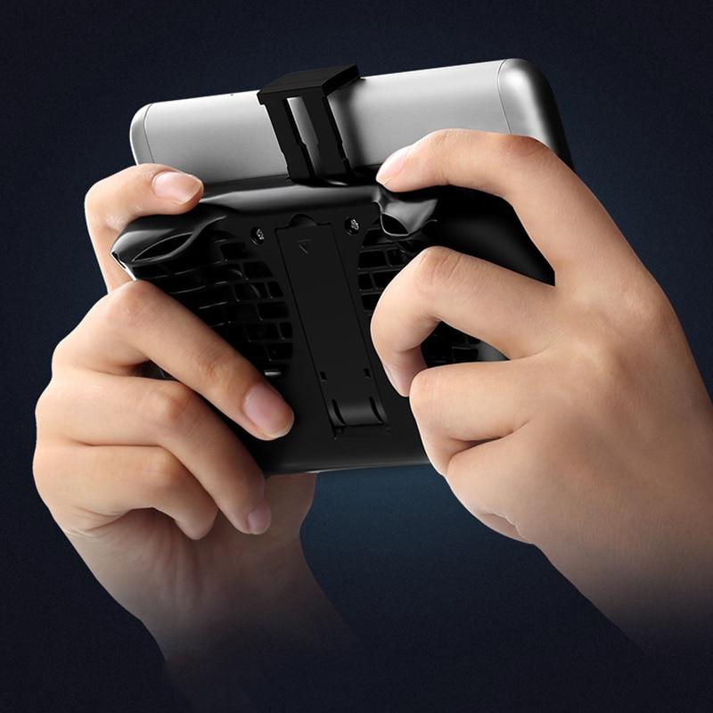 Remax Handyhalter Lüfter Desktop-ständer 2000 mAh Power Bank Lade Telefon Spiel Halter Stehen Für IPhone X Samsung S9