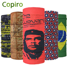 Copiro Brazil Style Breathable Multifunctional Headband Bandana Ciclismo Caveira Cachecol E Touca Cycling Cap Scarf Headwear  цена