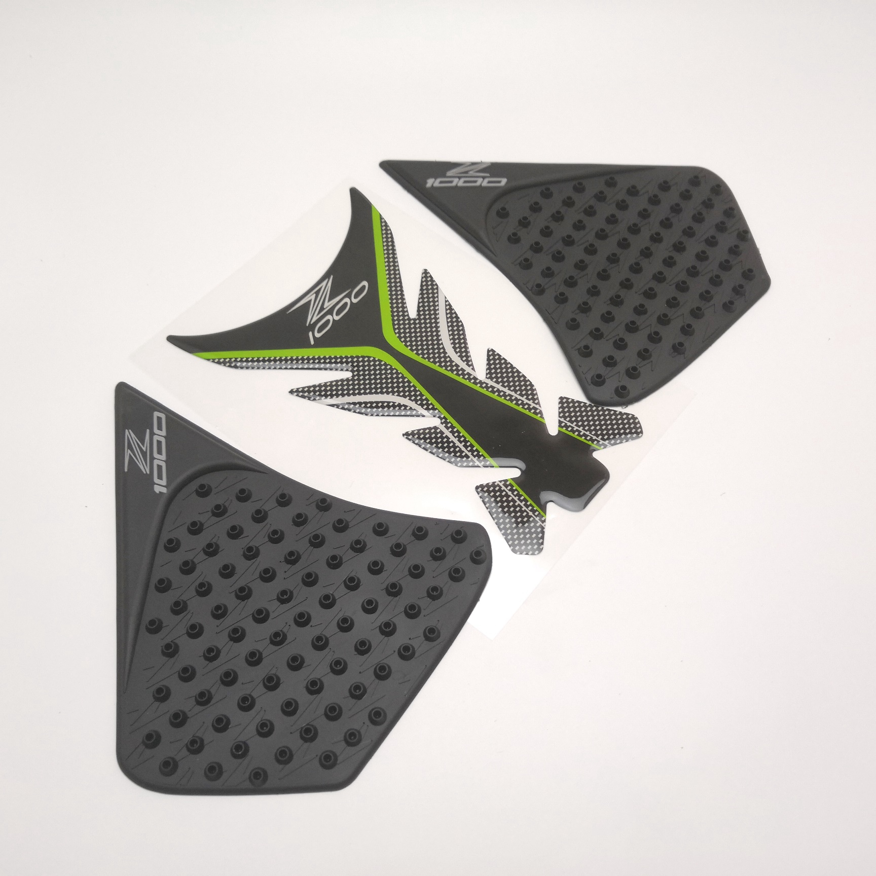 Center Tank Pad + Side Gas Knee Grip Traction Pads Protector Stickers For Kawasaki <font><b>Z1000</b></font> Z1000SX 2014 <font><b>2015</b></font> 2016 image