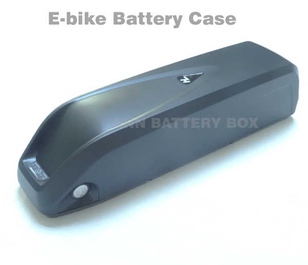 36V/48V lithium battery box E-bike battery case For DIY 36V or 48V 10Ah-15Ah li-ion battery pack With free 18650 cell holder