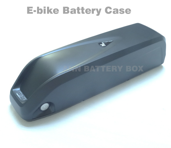 36V/48V lithium battery <font><b>box</b></font> E-<font><b>bike</b></font> battery case For DIY 36V or 48V 10Ah-15Ah li-ion battery pack With free <font><b>18650</b></font> cell holder image