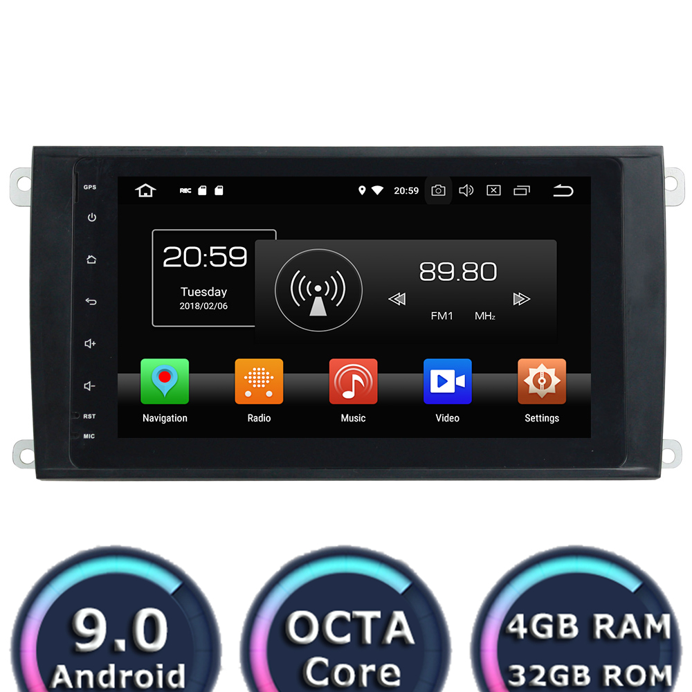Roadlover Android 9.0 Car Multimedia Radio Player For