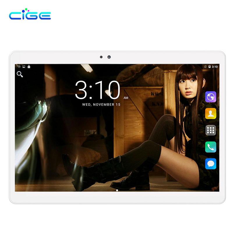 "CIGE Original Newest DHL Free 10 inch Tablet PC MTK8752 Octa Core 4GB RAM 32GB 64GB ROM Android 7.0 3G 4GB IPS PAD Tablet 10.1"""