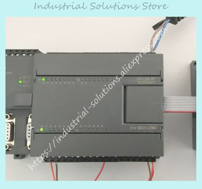 New original 14DI 10DO 187.5K Compatiable with Siemens PLC S7-200 CPU 224 6ES7214-1BD23-0XB8 6ES7 214-1BD23-0XB8 1 year warranty цена и фото