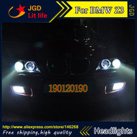 HID LED headlights headlamps HID Hernia lamp accessory products case for BMW Z3 1996 2002 Car styling