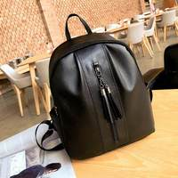 old 1 dower European and American canvas backpack women casual ladies backpack