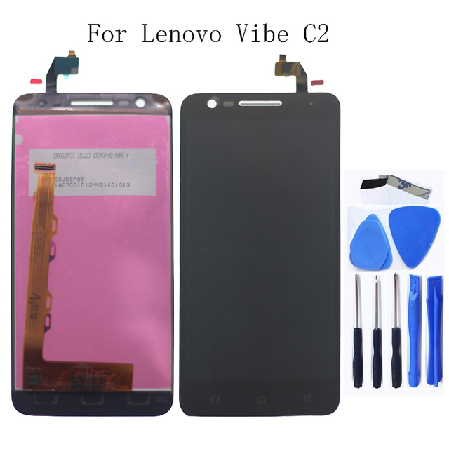 For Lenovo Vibe C2 K10a40 LCD monitor touch screen digitizer for Lenovo Vibe C2 screen LCD monitor repair parts replacement