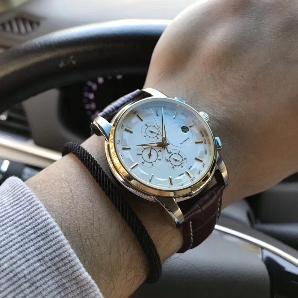 лучшая цена Mens Watches Top Brand Runway Luxury European Design Automatic Mechanical Watch S0746