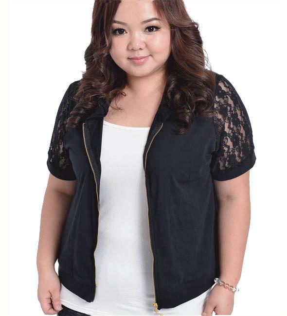 Plus Size XXXXL Women Cardigan 2016 Large Big Size Lace Short ...