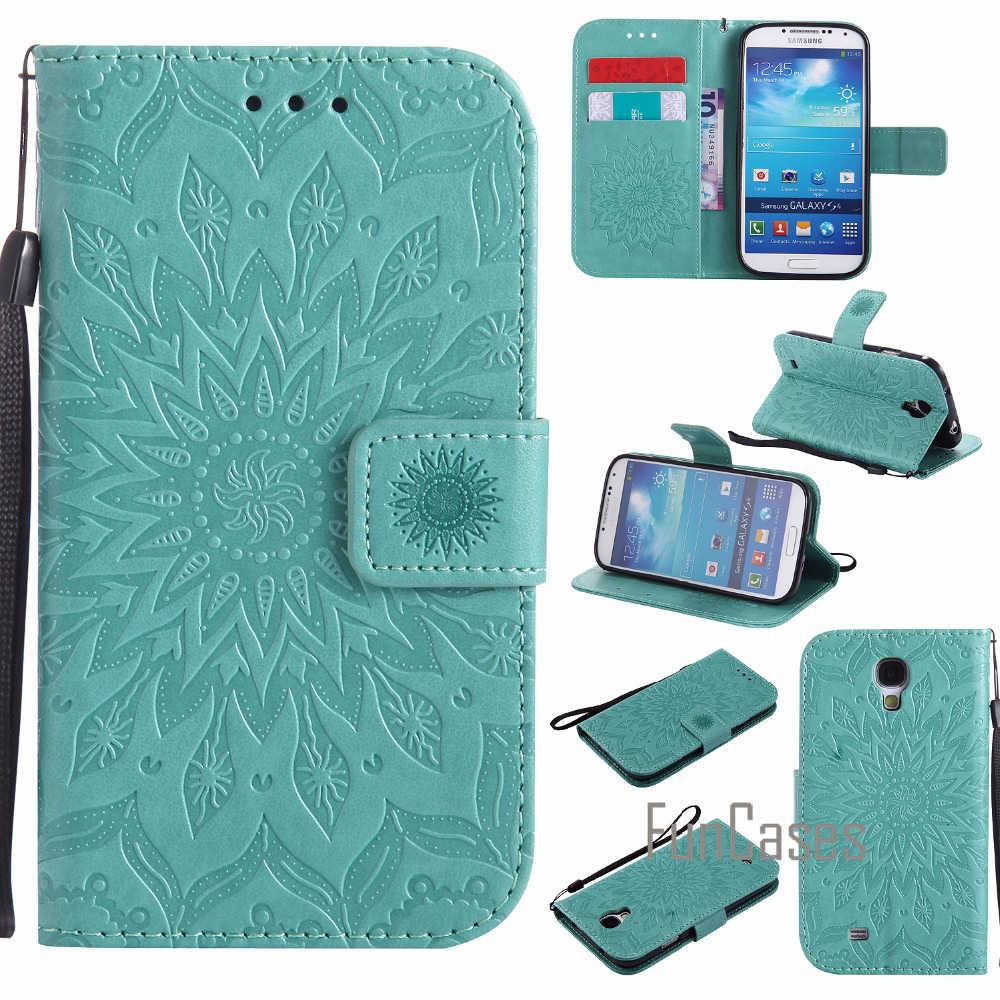 Flor Em Relevo Caso de luxo sFor fundas Samsung Galaxy S3 S4 S5 caso coque Galaxy S3 Neo i9300i sFor GT-i9301 Case + Cartão Titulares