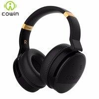 COWIN E8 Active Шум отмена Bluetooth наушники с микрофоном Hi Fi глубокий бас Беспроводной наушники за ухо стерео звук гарнитуры