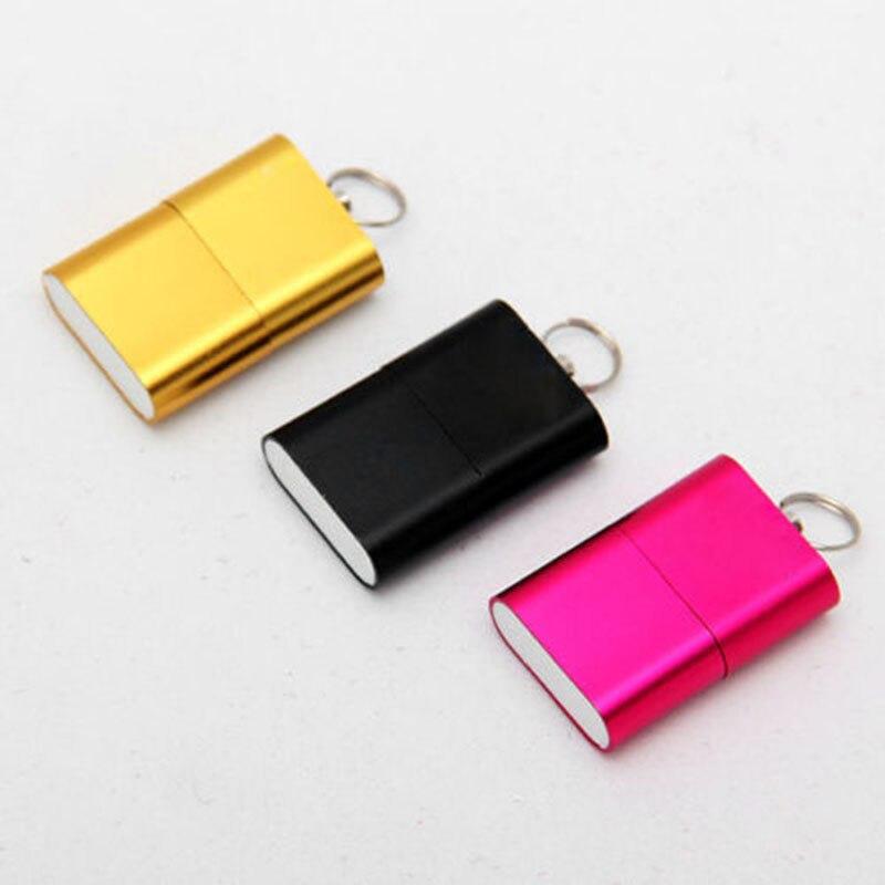 New Hot 2 Pcs Mini Card Reader Micro SD T-Flash SDHC High Speed USB Adapter Q99