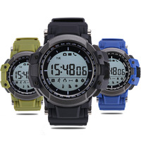 Zeblaze MUSCLE Bluetooth Smartwatch Outdoor Sports Pedometer Altimeter Thermometer Smart Watch For IOS Android Watches Men